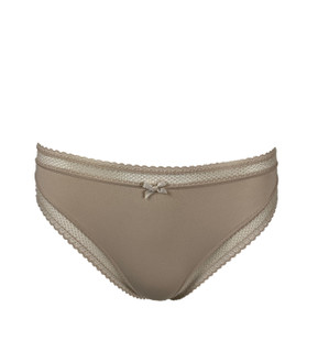 Ex M-S Ladies High Leg Lace Edge Brief - £1.25