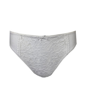 Ex M-S Ladies High Leg Lace Front Brief - £1.25