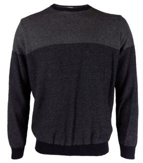 Ex M-S Mens Block Stripe Jumper - £4.95