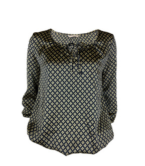 Ex M-S Ladies 3/4 Sleeve Printed Top - £2.50