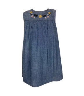 Ex N-xt Girls Embroidered Denim Dress - £3.00