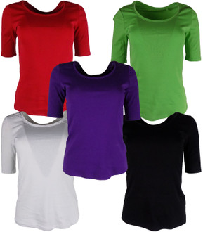 Ex M-S Ladies Half Sleeve Top (Pack A) - £2.00