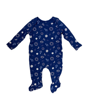 Ex M-thercare Boys Space Print Sleepsuit - £2.00
