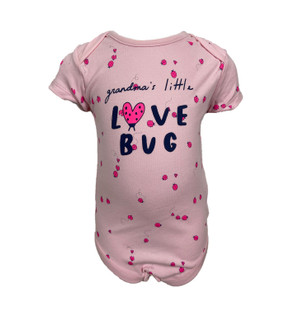 "Ex M-thercare ""love Bug"" Bodysuit - £1.50"