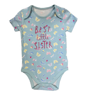 "Ex M-thercare Butterfly ""little sister"" Bodysuit - £1.50"