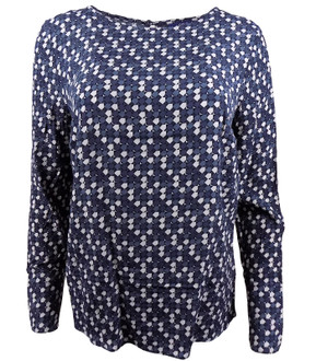 Ex N-xt Ladies L/S Printed Blouse - £3.50