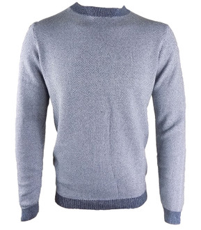 Ex N-xt Mens Navy Crew Neck Jumper - £3.95
