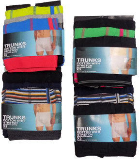 Ex F-F Mens 3 pack Trunks - £3.50