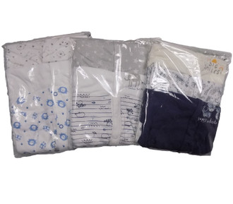 Ex Major Highstreet Boys 3 Pack Baby Sleepsuits - £3.95