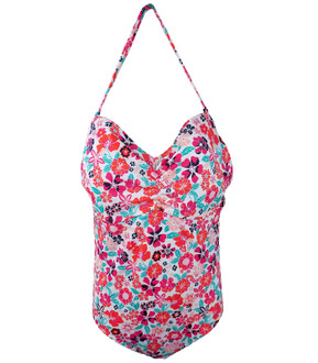 Ex M-S Ladies Secret Slimming Pink Swimsuit - £4.95