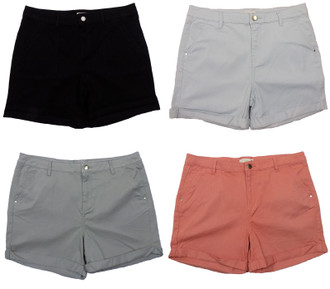 Ex Major Highstreet Ladies Chino Shorts - £3.75