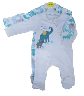 Ex M-S Baby Sleepsuit Twin Pack - £3.50