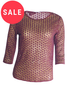 Ex T-p S-op Mesh Top - WAS £4.50   NOW £1.50