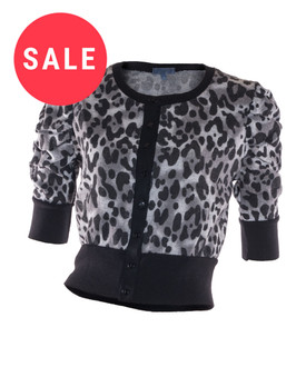 Ex Major High Street Ladies Cropped Cardigan - WAS £3.00   NOW £1.00