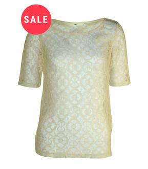 Ex Major High Street Ladies Lace Blouse  - WAS £2.00   NOW £1.00