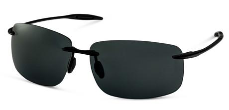 Black Wrap Sunglasses