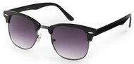 Black Clubmaster Sunglasses
