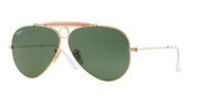 Ray-Ban RB3138 Shooter Sunglasses