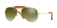 Ray-Ban RB3422Q Aviator Craft Sunglasses
