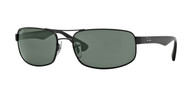 Ray-Ban RB3445 Rectangle Sunglasses