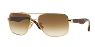 Ray-Ban RB3483 Square Sunglasses