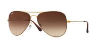 Ray-Ban RB3513 Aviator Flat Metal Sunglasses