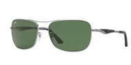 Ray-Ban RB3515 Square Sunglasses
