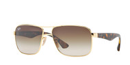 Ray-Ban RB3516 Square Sunglasses