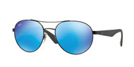 Ray-Ban RB3536 Mens Round Sunglasses