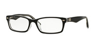 Ray-Ban RX5206F Rectangle Eyeglasses