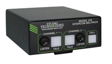 Studio Technologies Model 370 On-Air Dante Beltpack - Front