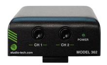 Model 362 Listen-Only Beltpack: Featuring Dante® Technology - Front
