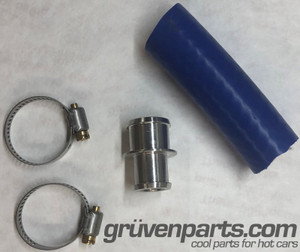 GruvenParts Billet Heater Core Outlet Kit
