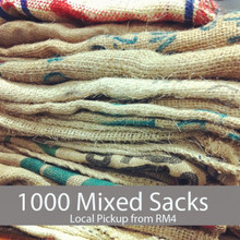 1000 Coffee Sacks - Local Pickup