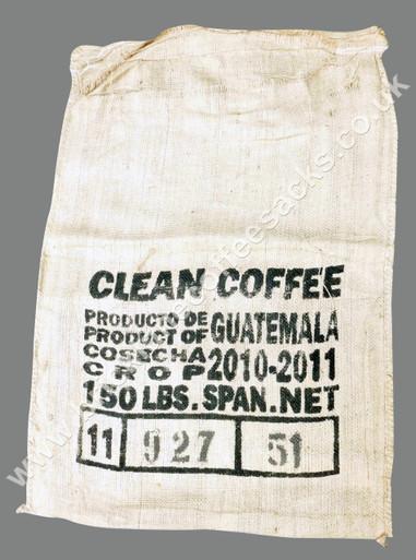 COFFEE SACK CAFE DE LAS TIERRAS FRONT