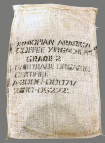 Ethiopian Hessian Arabica Coffee Sack