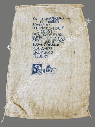 LA PROSPERIDAD COFFEE SACK FRONT