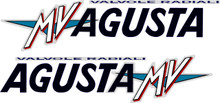 MV Augusta F4 750 Lower Sticker Decal Kit 270mm