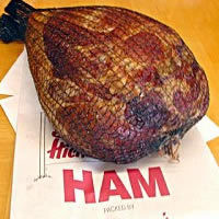 10-13 lb Whole Bone-in Smoked Ham