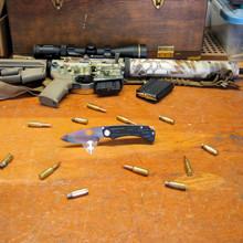 Medford Knife & Tool, The Colonial G, Black G10/Ti Handle, D2 Vulcan Blade