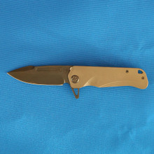 Medford Knife & Tool Proxima, Black S34VN PVD Blade FRONT