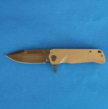 Medford Knife & Tool Proxima, S35VN Black PVD Blade front