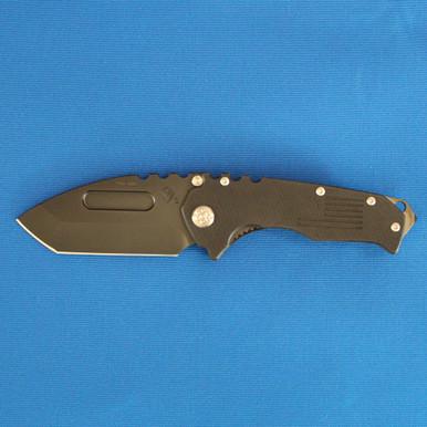 Medford Knife & Tool Praetorian Scout M/P, S35VN Tanto PVD Blade, Black G-10 Handles, PVD Hardware, Clip, Breaker front