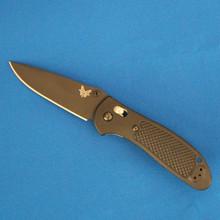 Benchmade Griptillian, Black Plain Edge S30V Blade, 551BK-S30V front