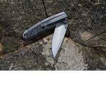 Smith Rally Folder 3.4 in Blade Black G-10 Handle