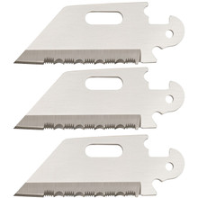 Cold Steel Click N Cut Replacement Blades 3 pcs Utility Serr