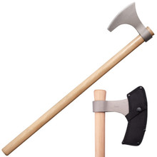 Cold Steel Viking Hand Axe 6.25 in Head 30 in Overall Length