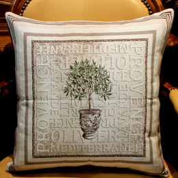 Gordes - French Jacquard Cushion Cover Made in France