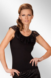 Jessica Black Top Made in Poland