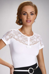 Cleo White Top Made in Poland